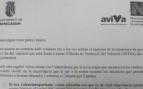 Carta del Ayuntamiento de Benicasim para 'valencianizar' a padres e hijos