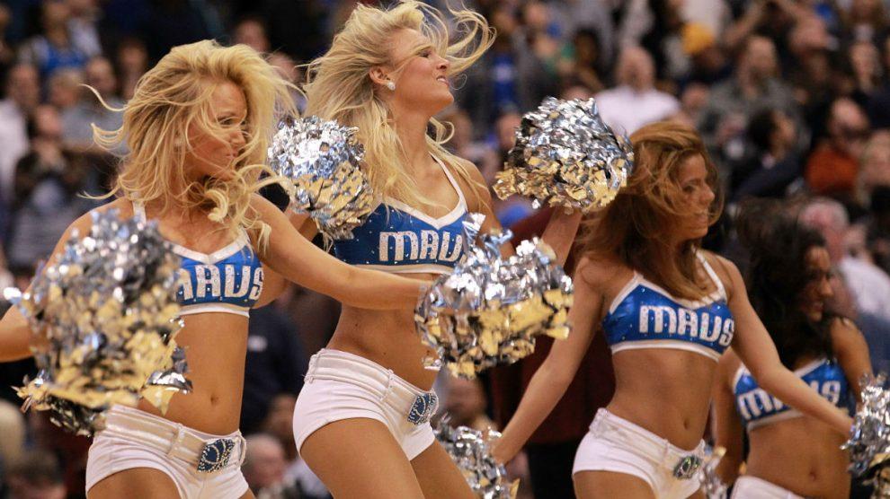 Una imagen de las 'cheerleaders' de los Dallas Mavericks. (Getty)