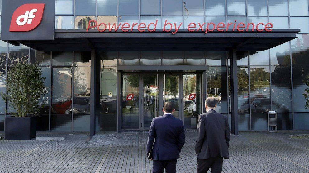 Sede central de Duro Felguera en Gijón. (Foro: EFE)