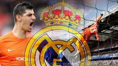 Courtois, objetivo del Madrid.