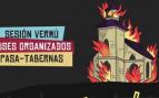El Ayuntamiento socialista de Lugo paga un festival que se anuncia con una iglesia en llamas
