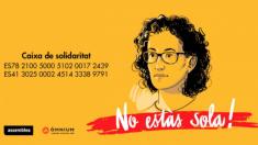Cartel de ANC en apoyo a Marta Rovira.