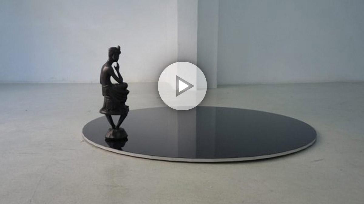 Pensive Bodhisatva, 50 (2017) by Massimo Bartolini Galería Bacelos