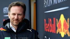 Christian Horner, director de equipo de Red Bull, considera que los austriacos sí que son una seria alternativa al dominio de Mercedes y Ferrari, poniendo en duda a McLaren para ello. (getty)
