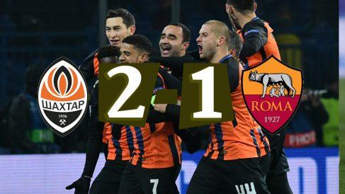 Shakhtar – Roma: Champions League
