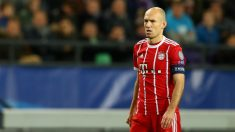 Robben, durante un partido con el Bayern de Múnich. (Getty)