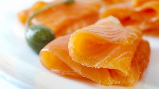 Receta de Bagel de salmón