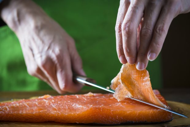 salmon ahumado