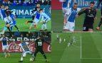 Todas las polémicas: González González no señaló un penalti por mano de Bustinza
