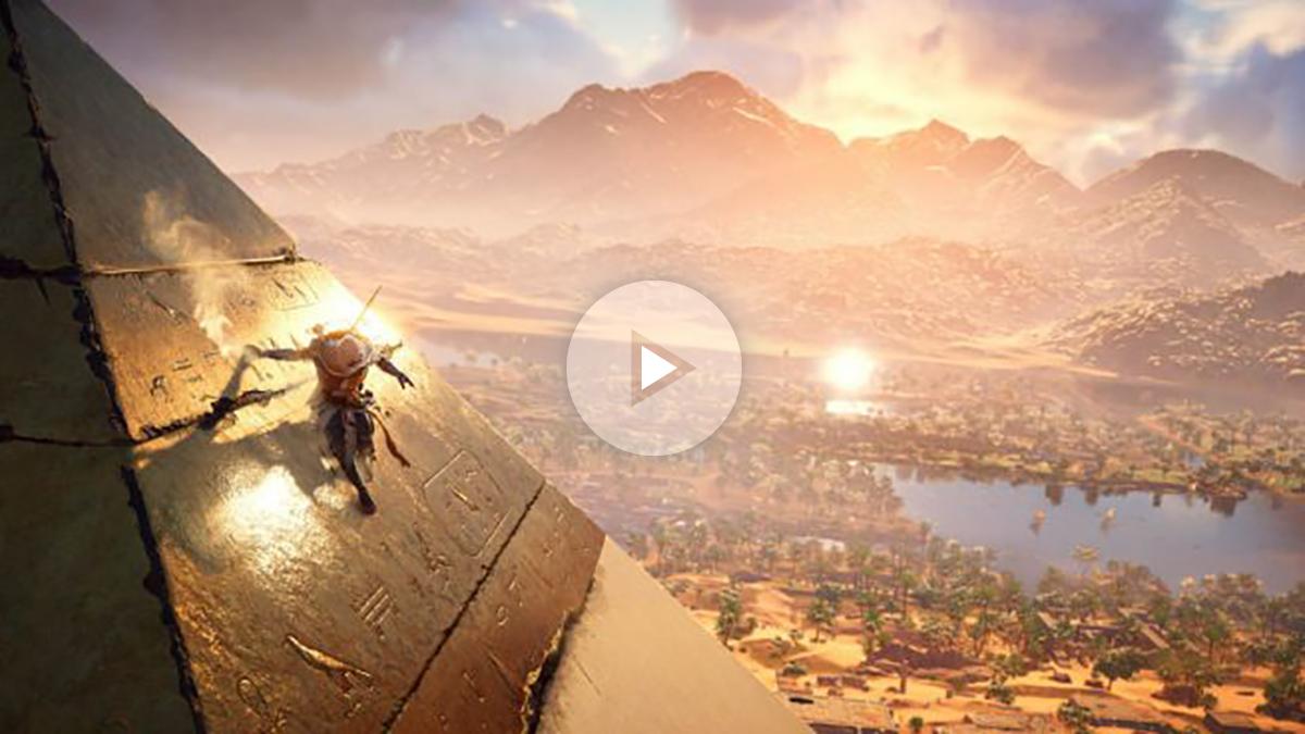 Conocer el antiguo Egipto, al alcance de un videojuego