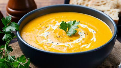 Receta de crema de calabaza y zanahoria sana y fácil de preparar