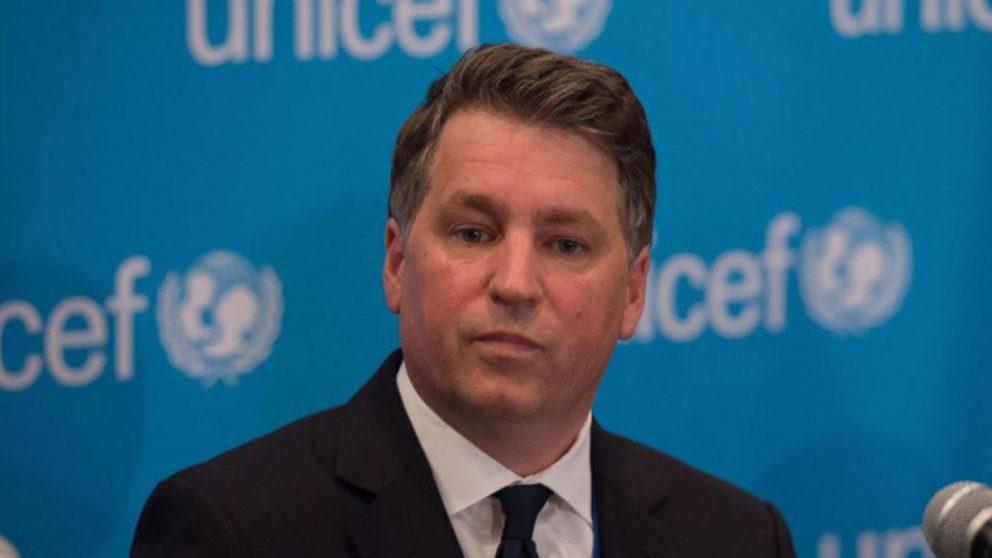 Justin Forsyth de UNICEF