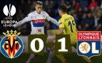 El Villarreal choca contra el Lyon