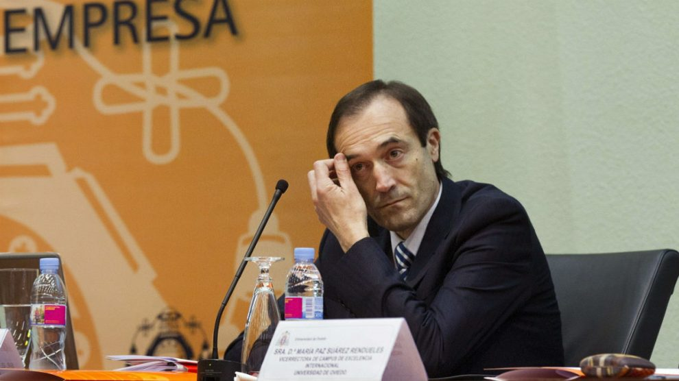 El CEO de Liberbank, Manuel Menéndez.