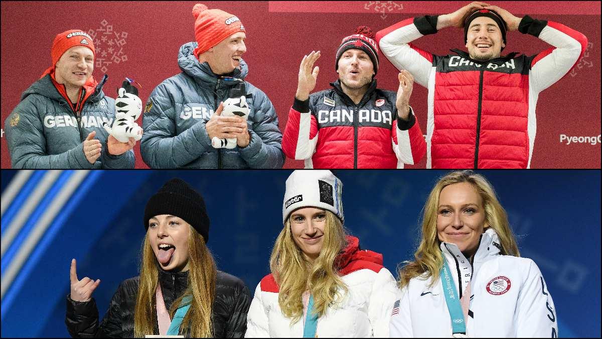Los corredores de bobsleigh y las snowboarders, los que más triunfan.