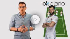 Látigo Serrano analiza la alineación del Real Madrid frente al Alavés. (Vídeo: Lidia Rodríguez)
