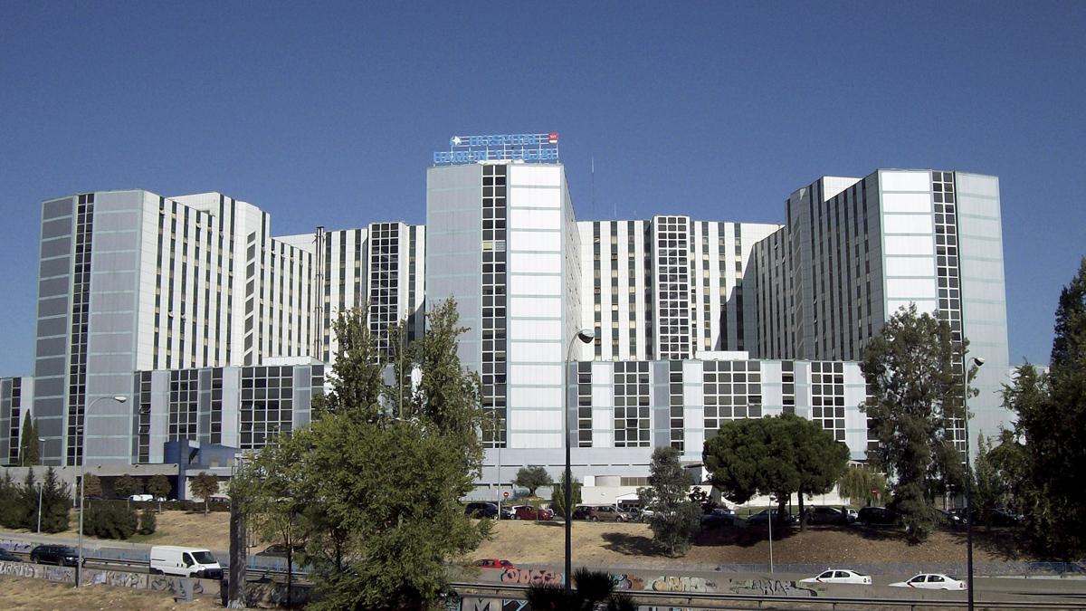Hospital Ramón y Cajal. (Foto: Wikimedia)