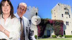 El vídeo que la inmobiliaria Mikeli Luxuli Real Estate utiliza para vender el Pazo de Meirás, propiedad de los nietos de Franco.