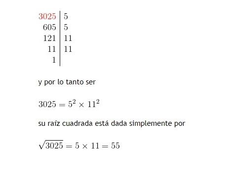 Cómo calcular una raíz cuadrada paso a paso