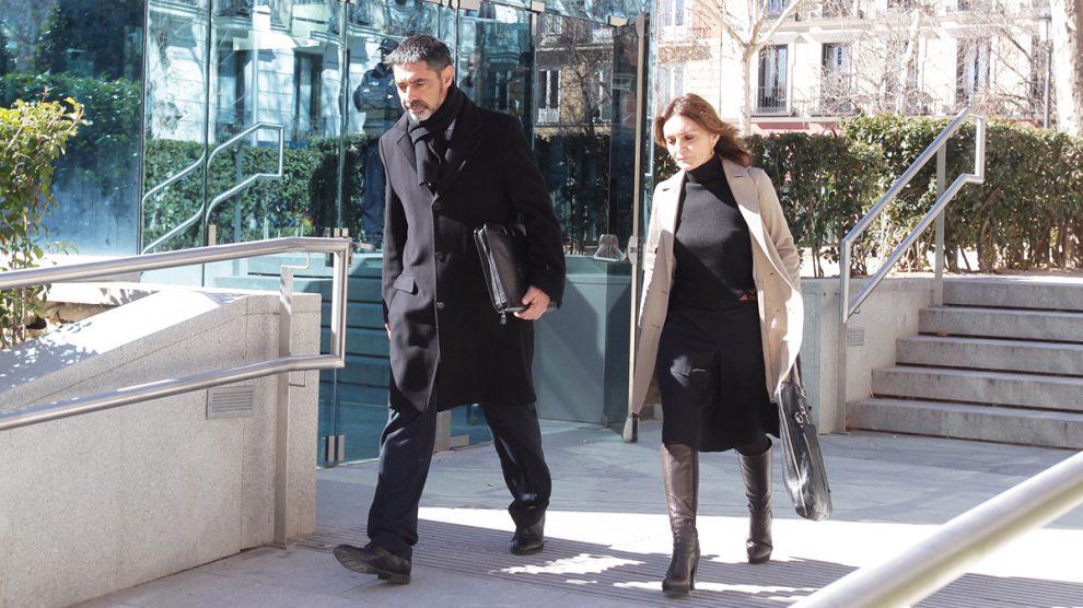 El exmayor de los Mossos Josep Lluís Trapero a su salida de la Audiencia Nacional. (Foto: Francisco Toledo)