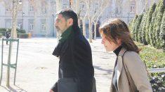El ex mayor de los Mossos Josep Lluís Trapero a su salida de la Audiencia Nacional. (Foto: Francisco Toledo)
