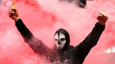 Un ultra del Spartak de Moscú. (Getty)
