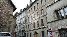 La vivienda de Iñaki Urdangarin y la infanta Cristina, en Ginebra (Suiza).