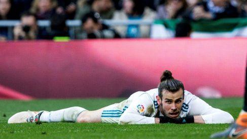 Bale, en el partido contra el Alavés. (EFE)