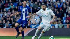 Karim Benzema volvió a oír los pitos del Santiago Bernabéu. (EFE)