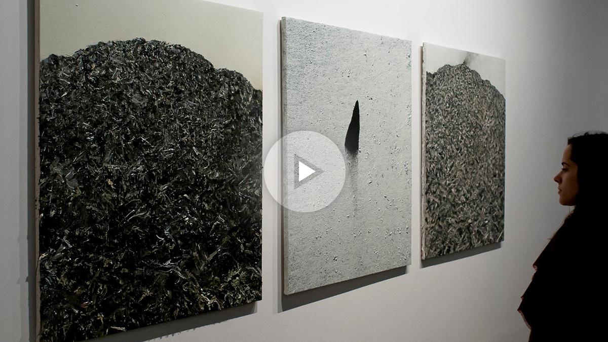 Obras de Hugo Fontela en al galería Marlborough Foto. Marlborough