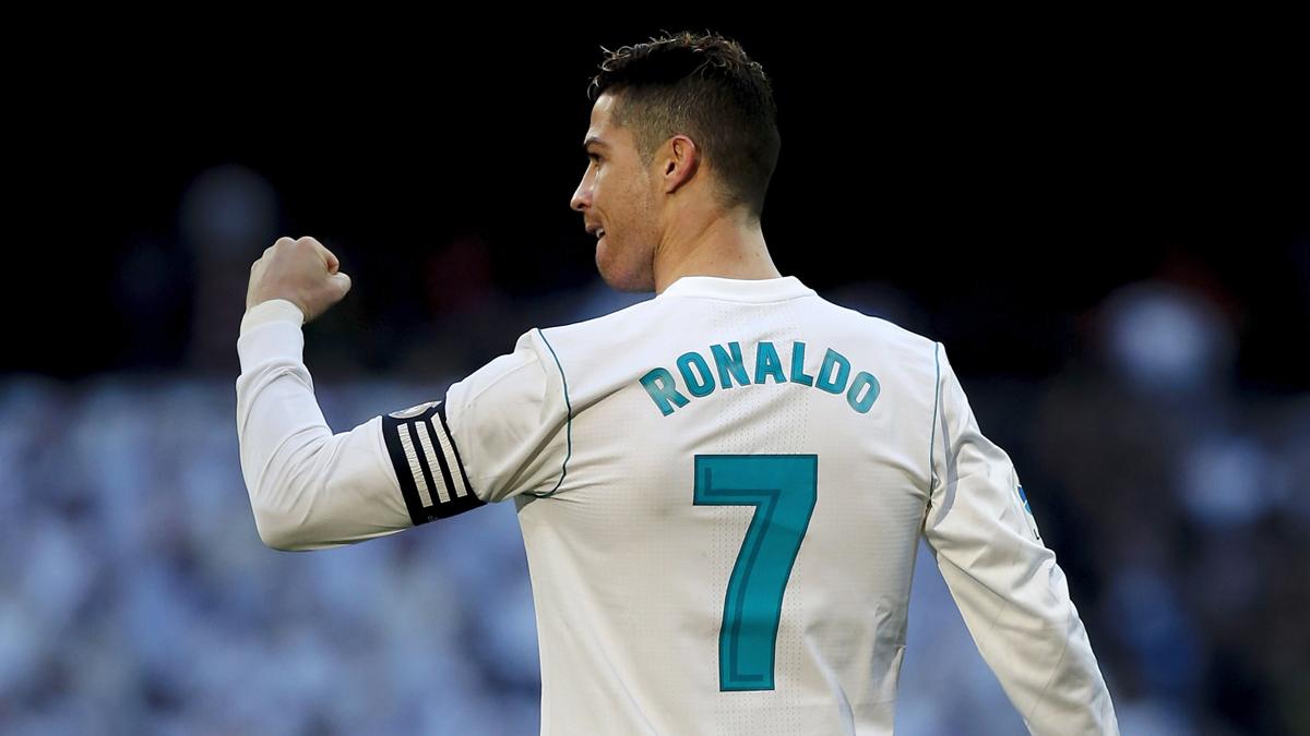 Cristiano Ronaldo celebra uno de sus goles frente al Alavés (Getty).