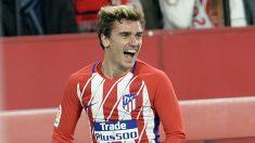 Griezmann celebra un gol contra el Sevilla. (AFP)