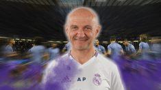 Antonio Pintus, preparador fisico del Real Madrid.