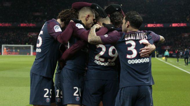 El PSG ensaya la remontada en el Clásico francés (3-0)