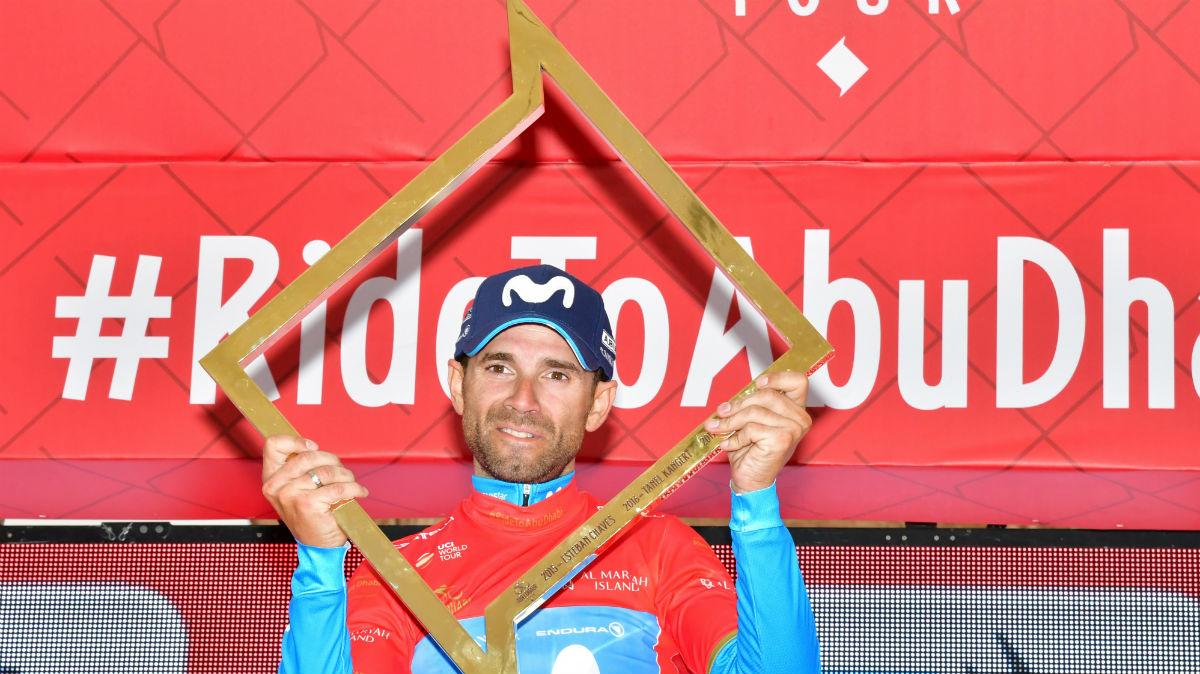 Alejandro Valverde conquista el Tour de Abu Dabi. (AFP)