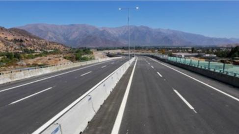Autopista Ruta 60 en Chile (Foto. OHL