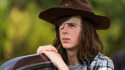 Carl Grimes en 'The Walking Dead'.