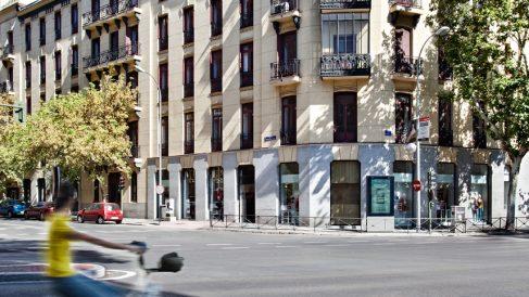 Sede de Casa Decor en la calle Fernando de Rojas nº 2 de Madrid.