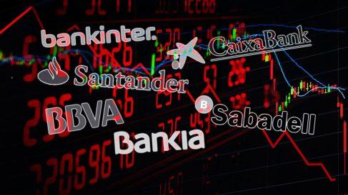 Los bancos españoles en el punto de mira.