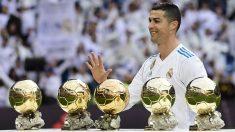 Cristiano Ronaldo está en el puesto número 3 de la lista con unas ganancias de 92 millones. (AFP)