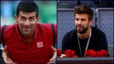 Gerard Piqué y Djokovic fueron socios para la nueva Davis. Ahora son enemigos.
