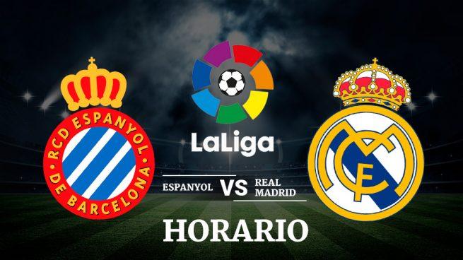 Espanyol real madrid horario y ver el partido hoy de la for Partido real madrid hoy