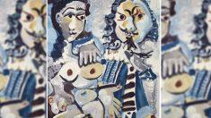 Mousquetaire et nu assis', de Pablo Picasso.