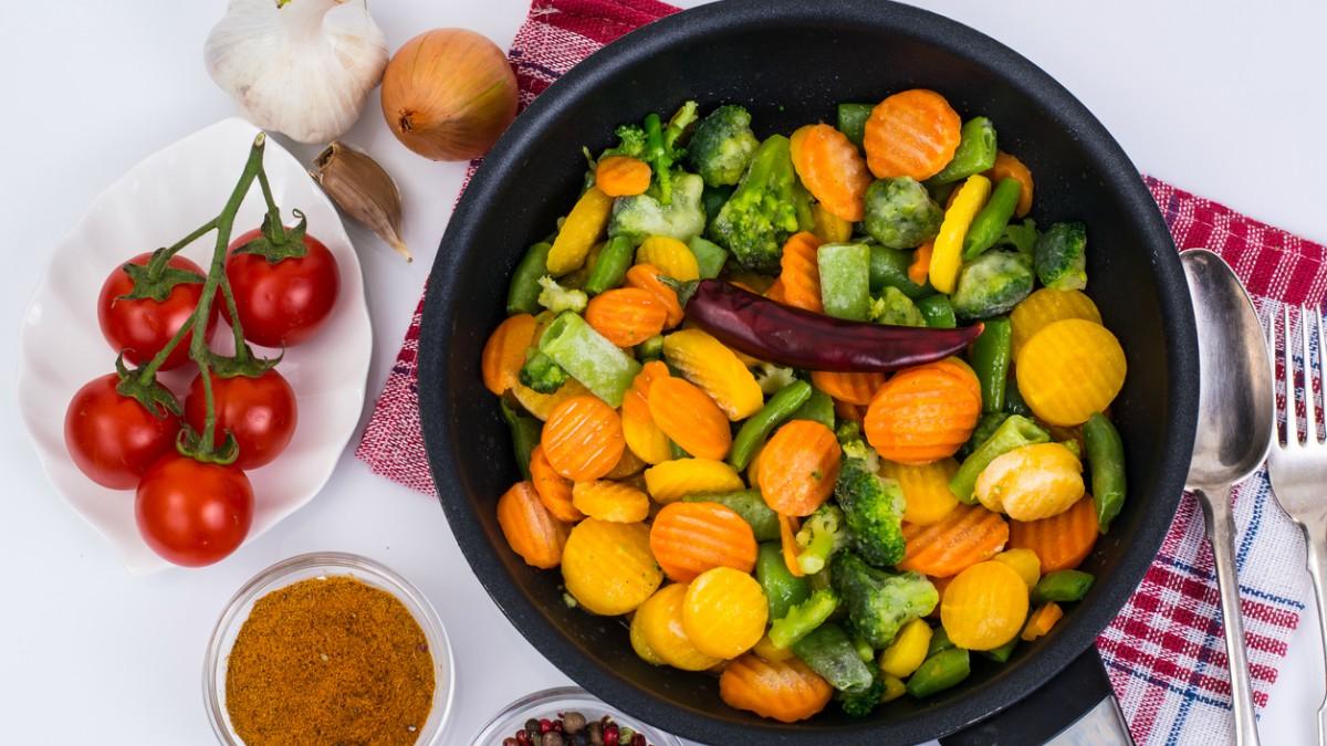 Receta de salteado de verduras tradicional fácil y rápido