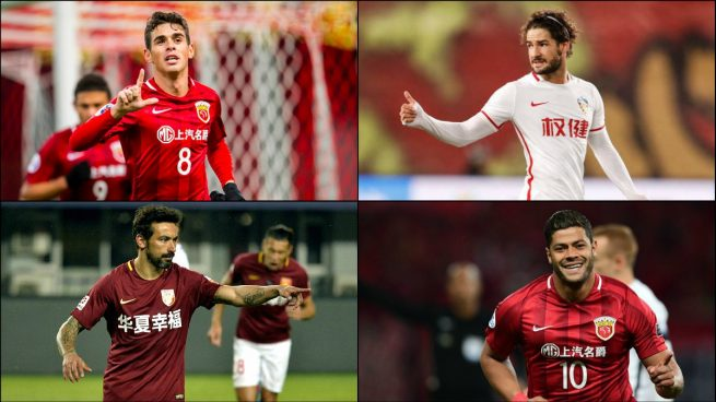 Carrasco, Gaitán y otros cracks de la Superliga china