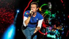 Chris Martin, vocalista de Coldplay.