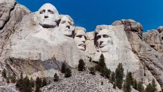 Monumento Nacional Monte Rushmore.