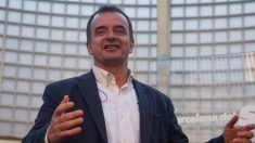 Alfred Bosch, líder de ERC en Barcelona.