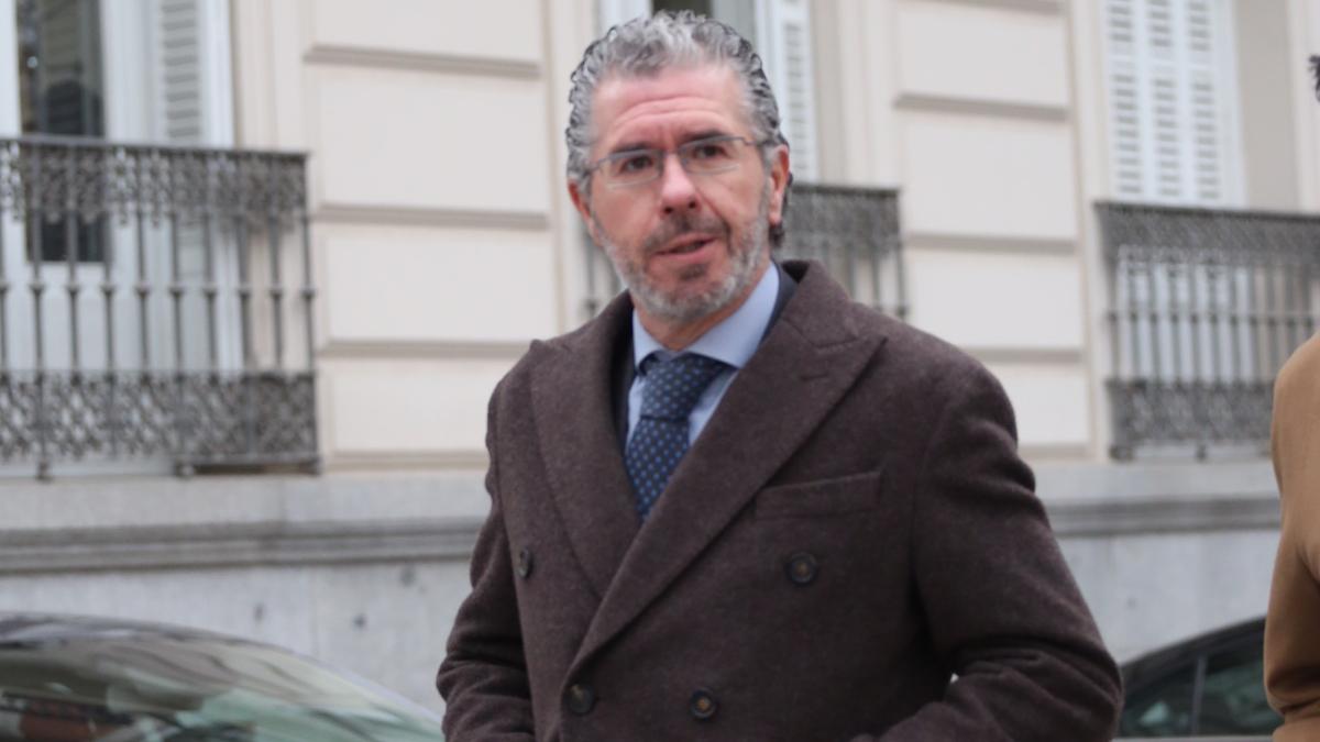 Francisco Granados en su salida de la Audiencia Nacional (FOTO: FRANCISCO TOLEDO).
