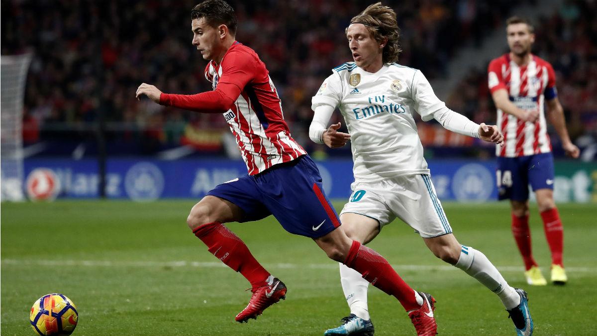 Lucas Hernández en la final de Milán contra el Real Madrid. (Getty)